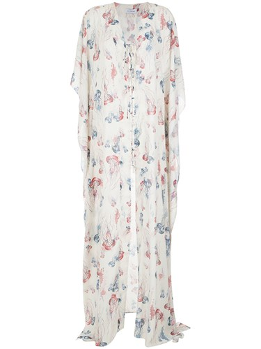 Olympiah Printed Maxi Dress Polyester GsbjT5