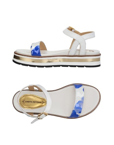 Loretta Pettinari Sandals White XrUVW33