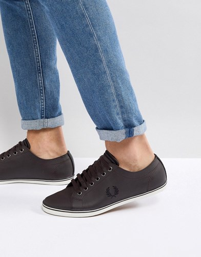 Fred Perry Stamford Suede Trainers In Brown 114 wtp9XDXWUF