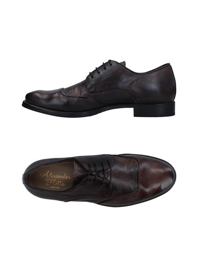 Alexander Hotto Lace Up Shoes Steel Grey ws3fxubm