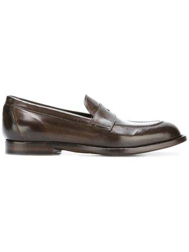 Officine Creative Classic Penny Loafers Brown 610FZ