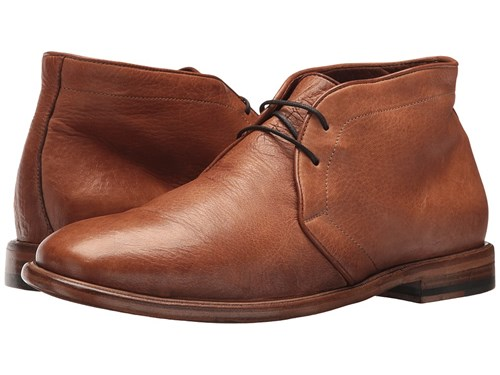 Frye Fisher Chukka Tan Deer Skin Leather Lace Up Wing Tip Shoes GWjkL
