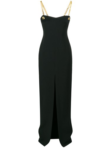 Tom Ford Chain Straps Gown Black QYuNC