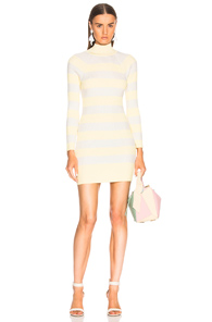 Zimmermann Breeze Tube Knit Dress In White IAlkmJ