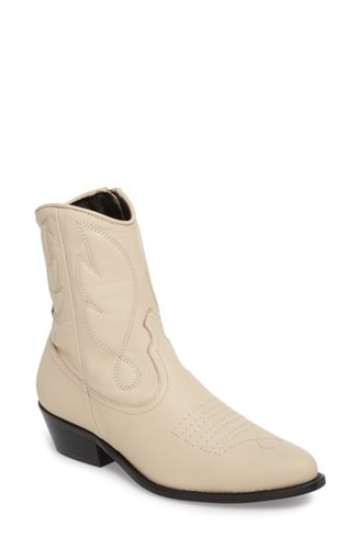 Cream Arizona Topshop Boot 'S Western Fx8qIXq