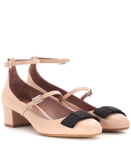 Tabitha Simmons Rubia Leather Pumps Neutrals z4P0JCzMC