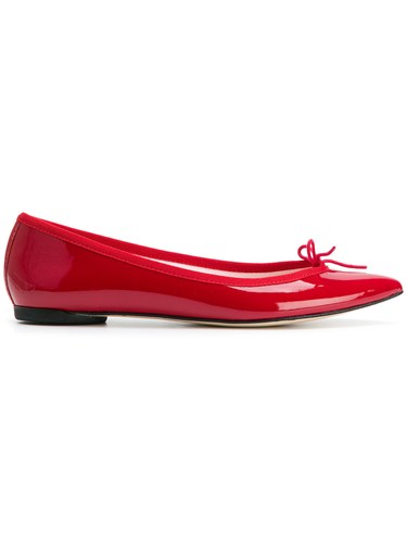 Ballerina Red Shoes Ballerina Pointed Shoes Red Repetto Repetto Repetto Pointed O11wxSqnE