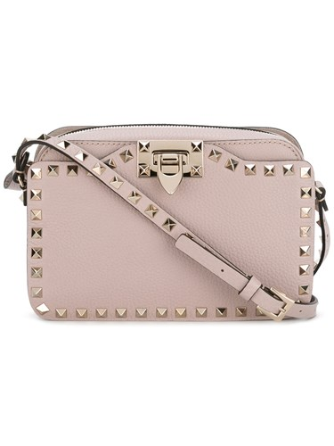 Valentino Garavani Rockstud Crossbody Bag Nude And Neutrals oOnLtInPr