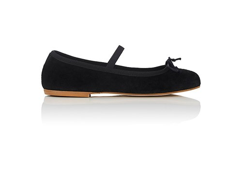 Black New Flats Women's York Barneys Suede 6PgHxq
