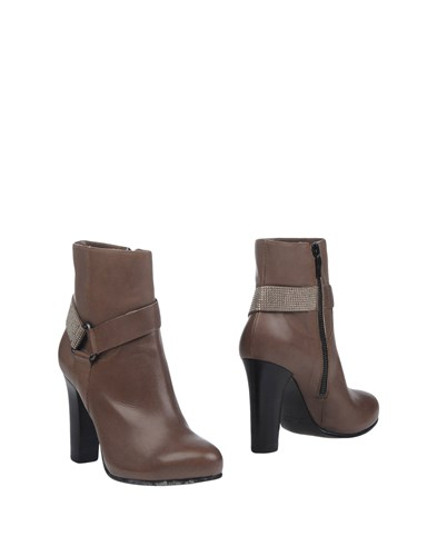 Janet & Janet Ankle Boots Dove Grey E3Ojq3