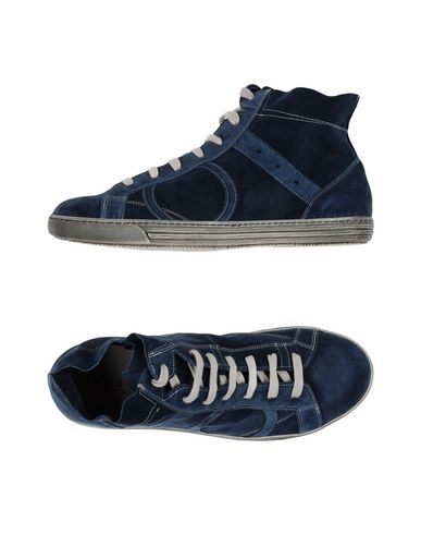 PLAYHAT Footwear Low Tops And Trainers Men Dark Blue kZEOG