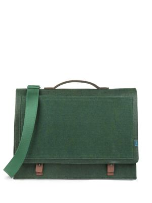 M R K T Mateo Felt And Microsuede Briefcase Midnight Green 0YDF8bIAjO