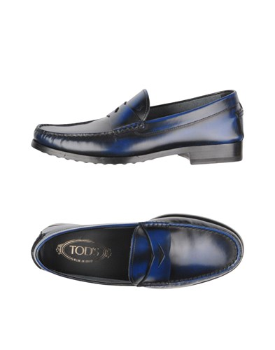 Tod's Loafers Blue mjuthlWs3P