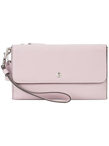 Coach Triple Small Wallet Pink And Purple 70EQpZoJyW