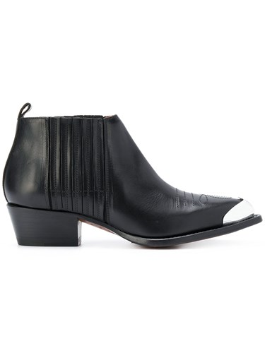 Buttero Western Ankle Boots Black 0rk9PdY
