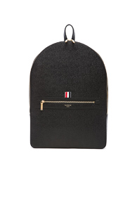 Thom Browne Pebble Grain Backpack In Black wMcGcqmw1