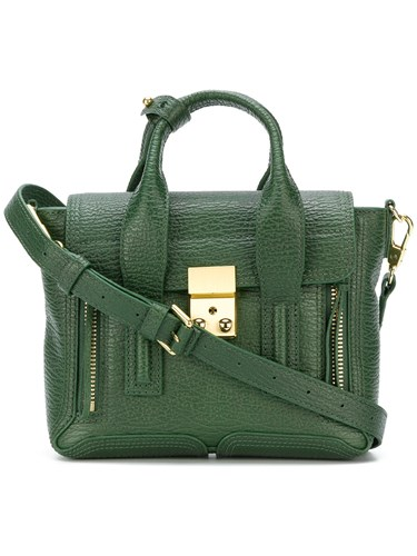 3.1 Phillip Lim Pashli Tote Calf Leather Green enSHI