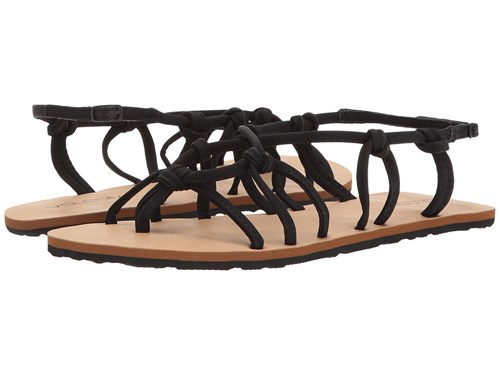 Sandals Black Volcom Women's Sandals Whateversclever 6awAqxp