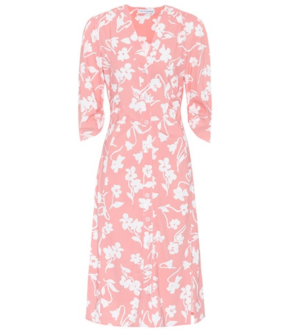 Altuzarra Pia Floral Printed Dress Pink 3uZXGUN0GB