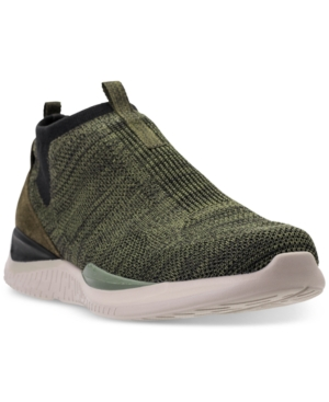 Sneakers Casual From Mid Black Line Skechers Matrixx Olive Men's Finish fHqIIB