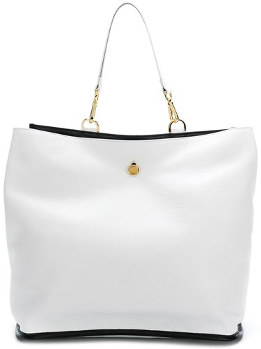 Giancarlo Petriglia Colour Block Shoulder Bag White zO9HJYeg