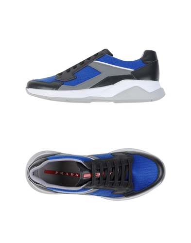 Prada Sport Sneakers Bright Blue rgSC7r