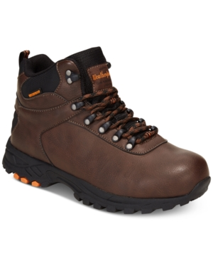 Weatherproof Vintage Men's Jason Waterproof Hikers Men's Shoes Brown Leather pFOM8