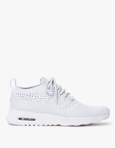 Thea Flyknit Air Pure Max In Ultra White Platinum Nike OE1IO