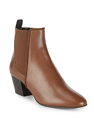Aquatalia by Marvin K Felicite Almond Toe Boots Nut NlqyP