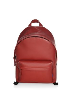 Uri Minkoff Ace Leather Backpack Red bZpnw