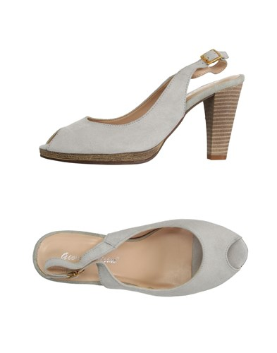 GIORGIO PICINO Sandals Light Grey WQZ4AF