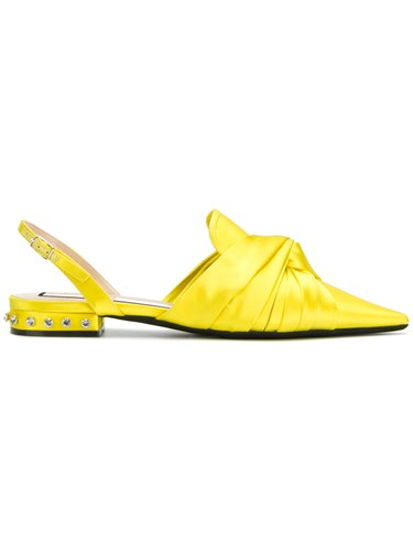 N°21 No21 Pointed Toe Sandals Yellow And Orange th1FLLK2