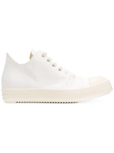 Rick Owens Drkshdw Lace Up Sneakers White dXwxrCRtl