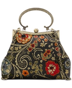 Patricia Nash Embroidery And Beading Giulietta Small Clutch Prarie Rose JNJlr2