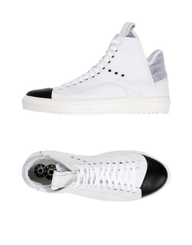 8 Footwear High Tops And Sneakers White 2UjYvdcSqw