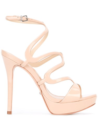 Schutz Strappy Heeled Sandals Nude And Neutrals nAuJE0c8oO