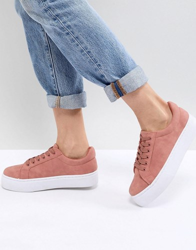 Pieces Trainer With Chunky Sole Rose Dust Pink 7kazJaThSe