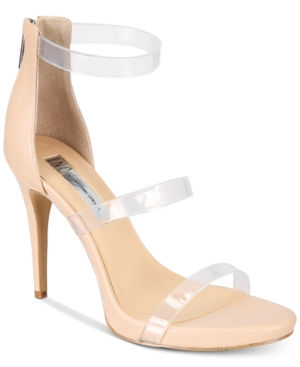 INC International Concepts I.N.C. Sadiee Strappy Dress Sandals Created For Macy's Women's Shoes Powder Nude kuqp2Epp