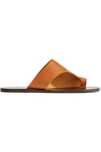 Leather Cutout Atelier Rosa Atp Tan Slides UqtAUHnw