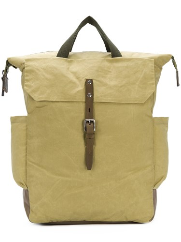 Ally Capellino Ashley Waxed Backpack Green PWeChD