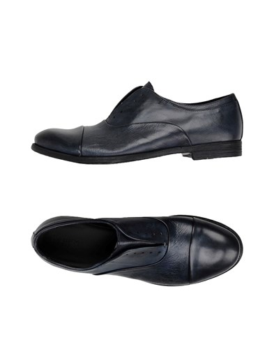 Pawelk's Lace Up Shoes Dark Blue YBdWaJ