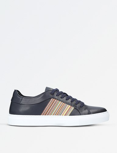 Paul Smith Ivo Leather Trainers Blue Other SrkjDV