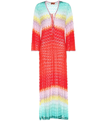 Missoni Mare Knitted Maxi Dress Multicoloured 08mmoDwzNy
