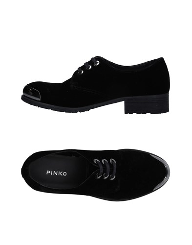 Pinko Shoes Pinko Lace Black Lace Up Up Shoes gwBwtHf