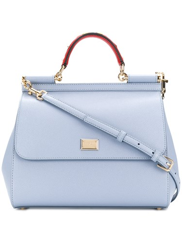 Dolce & Gabbana Sicily Shoulder Bag Blue QnCmwS
