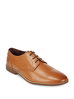 Ben Sherman Gabe Leather Oxfords Tan Xqpz3dL2tp
