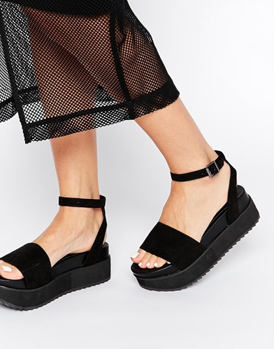 Asos Black And White Shoes