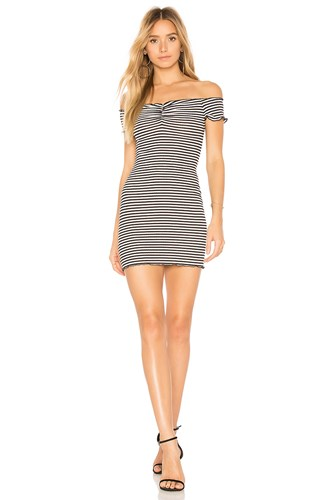 Privacy Please Coolidge Dress Black And White a6TL7TgrRC