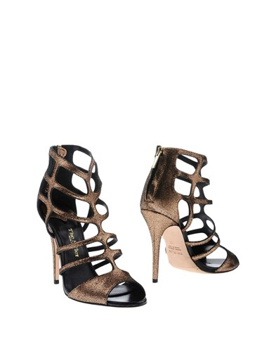 The Seller Ankle Boots Bronze fxdAnyGU