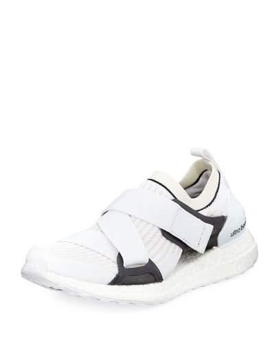 adidas by Stella McCartney Ultra Boost X Fabric Sneaker White Grey zPQFJk